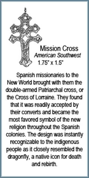 Pendant - Mission Cross - 9438, 2019
