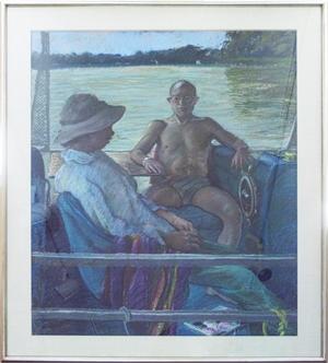 Pontoon Boat, 1987