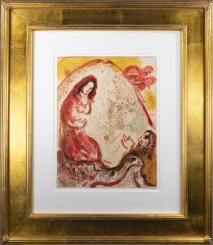 Rachel Dérobe les Idoles de son Père (Rachel Hides her Father's Idols), M 242/265 (Edition of 6500), 1960