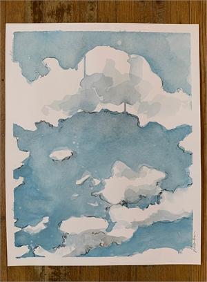Clouds 2, 2020