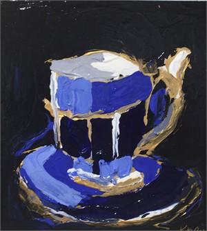 Colbalt Teacups I