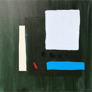Courbet Green by Catherine Booker Jones