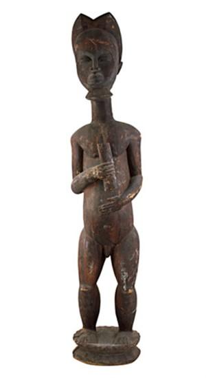 Statue Baule/Ivory Coast, c1965