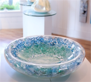 Ombre Rockstar Bowl by Abby Modell