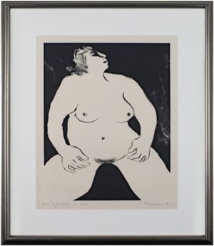 Nude Female/Presentation Proof, 1975
