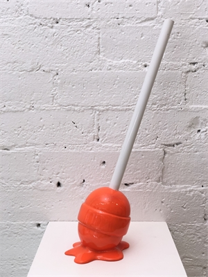 The Sweet Life, small, Orange Lollipop, 2019