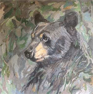 Black Bear Vision by Nancy Bass