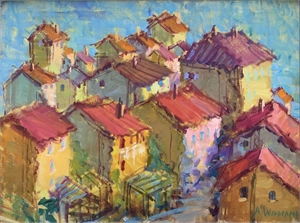 Cortona Impressions I by Alice Williams