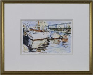 Boats at Anchor After Sargent, 2003