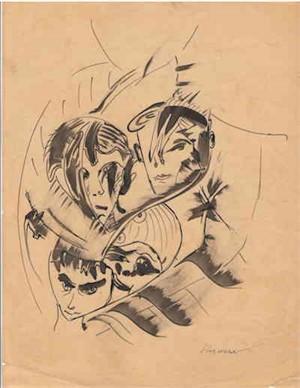 Faces, c. 1938-40