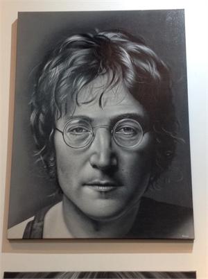 """""""Celebrity Series"""" John Lennon, 2017"""