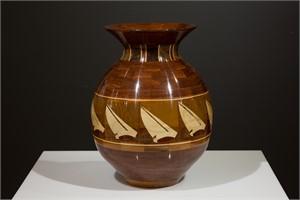 Windy Day Vase by Steve Howland