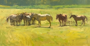 Summer Pasture by Quang Ho