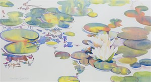 Water Lily Series #1 by Kirsten Barton