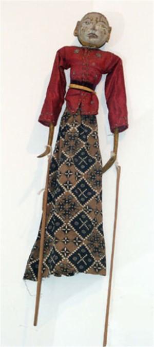 Golek Puppet (female), c.1900