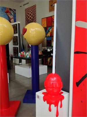Red Corner Drip Lollipop Med, 2019