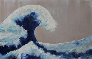 The Wave (Ode to Hokusai)