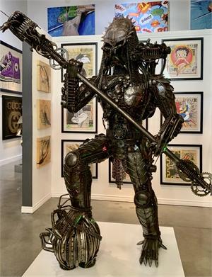 """Predator King' w/Alien kill, 2018"