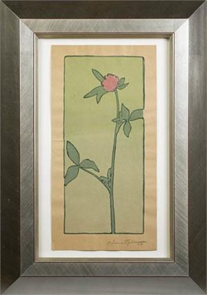 Pink Flower, c. 1950s