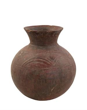 Ceramic Pot - Mossi, Burkina Fasso (Farmer's Water Jug), c.1930
