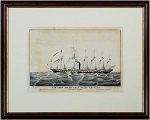 Iron Steam Ship Great Britain, c.1850