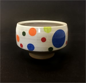 Large Bowl with Dots