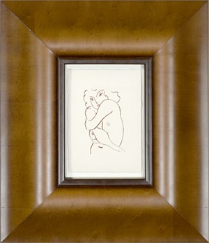 Nude w/Arms Entwined (From Florilege des Amours de Ronsard Portfolio), 2007