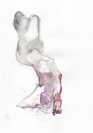 Watercolor Gesture 03, 2018