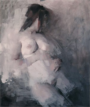 Nude with Head Turned Away