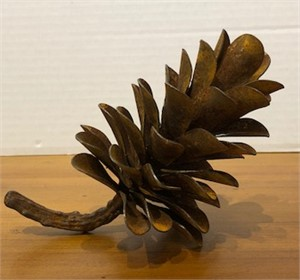 Pine Cone - Oxidized Steel  17-482