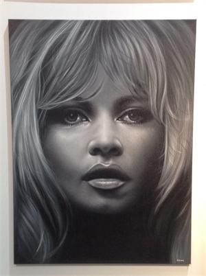 """Celebrity Series"" Brigitte Bardot, 2017"