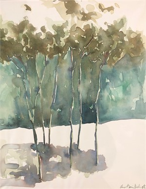 Trees in Green, 2019