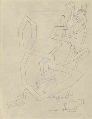 Tubular Drawing, c. 1938-40