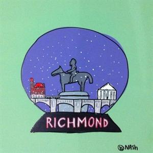Richmond Snow Globe