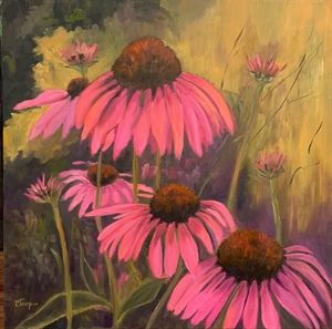 Cone Flower #4 by Cathie Thompson