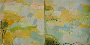 Indian Summer (Diptych), 2016