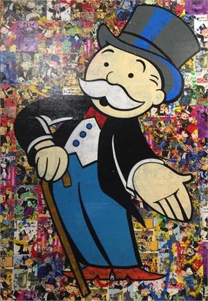 Icon Series Monopoly Man, 2019