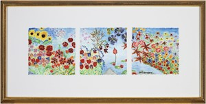 Panorama Paradise for Sara (triptych), 2007
