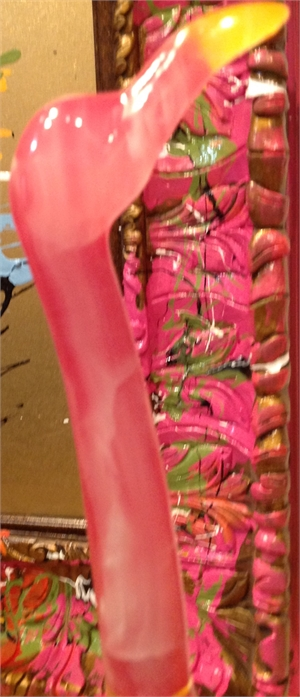"Pink Flamingo"", 2016"