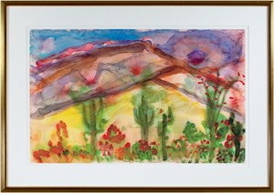 Sunset Over the Mountain, Scottsdale, AZ, 2003