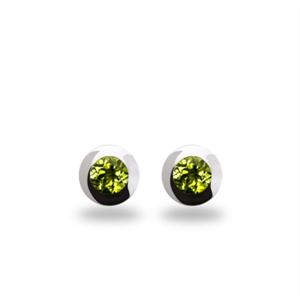 Earrings - Sterling Silver & Peridot E3136PD