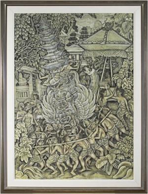 Royal Cremation Ceremony Ubud, Bali, c1940
