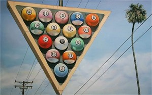 Billiards by Terry Thompson