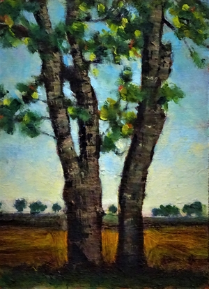 Two Trees by Larry Welo