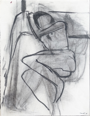 Nude in Bed, 1990