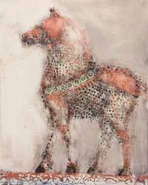 Standing Red Horse  by Alicia Rothman