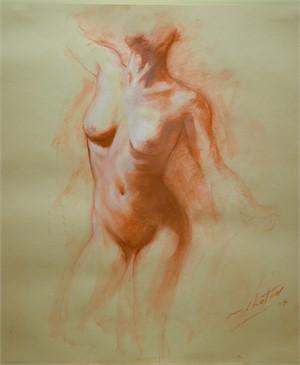 Nude Study (torso), 2007