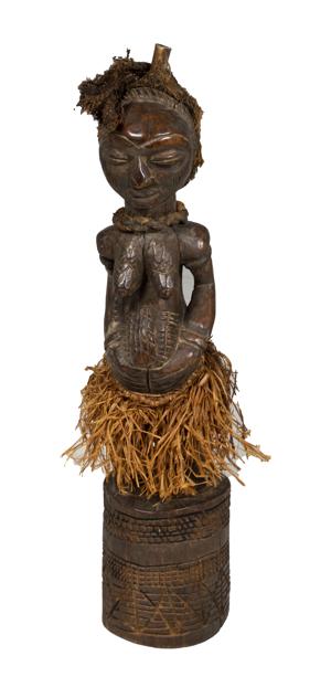 Baluba Fetish Figure (Zaire), c.1900