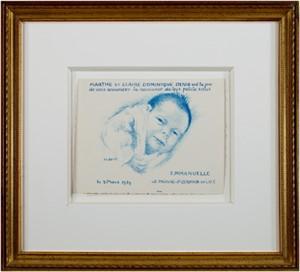 Emmanuelle(the artists grandaughter), 1939