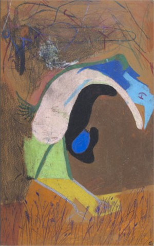 The First bird with Egg, Duckling Abstraction, 1985